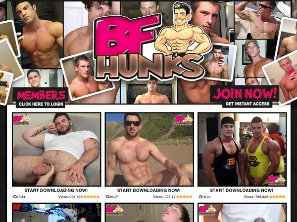 Become BF Hunks Member