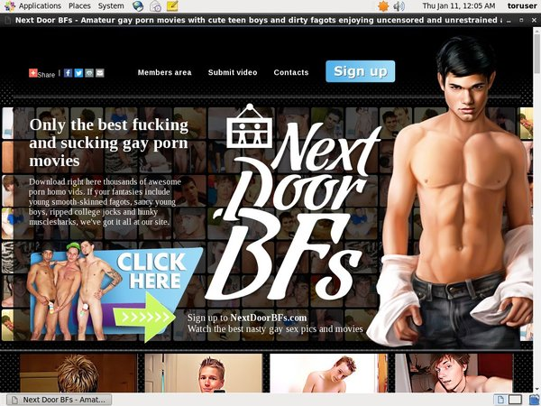 Next Door BFs Join By Phone