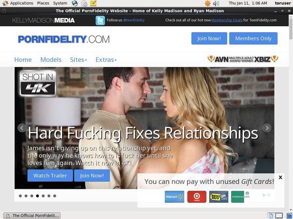 Pornfidelity Password