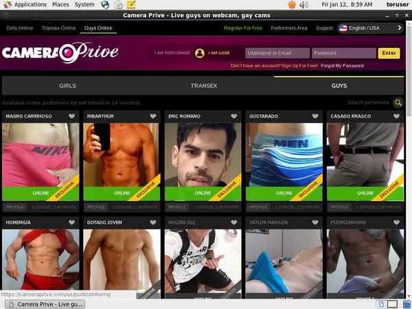 CameraPrive Gay Webcams Join By EU Debit