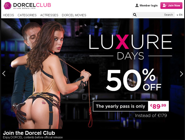 Dorcelclub.com Paypal Account